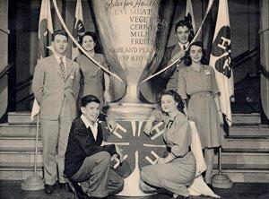 4-H Club Historical Photo