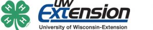 4-H Clover and UW-Extension logo